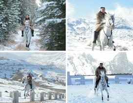 Thông điệp từ màn cưỡi ngựa trắng trên núi thiêng của ông Kim Jong-un