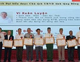 Nghệ An tuyên dương 200 người có uy tín tiêu biểu vùng dân tộc thiểu số