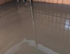 """Lộ ảnh bể cấp nước siêu bẩn ở chung cư """"5 sao"""": Ở thì khổ, bán lại khó, dân phát hãi"""