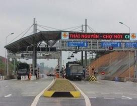 Sắp thu phí tuyến BOT Thái Nguyên - Chợ Mới