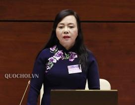Miễn nhiệm Bộ trưởng Y tế Nguyễn Thị Kim Tiến ngày 25/11, chưa phê chuẩn người thay
