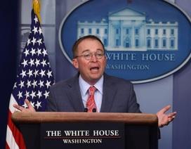 Nhà Trắng thừa nhận ông Trump gây sức ép với Ukraine