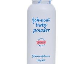 Johnson & Johnson thu hồi phấn rôm chứa chất gây ung thư