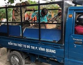 Chủ tịch phường chỉ đạo miệng tịch thu đồ của dân tại Kiên Giang!