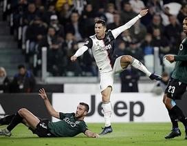 Ronaldo tiếp tục tỏa sáng, Juventus xây chắc ngôi đầu