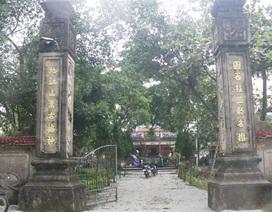 Hai pho tượng cổ quý ở Di tích quốc gia bị kẻ gian đánh cắp