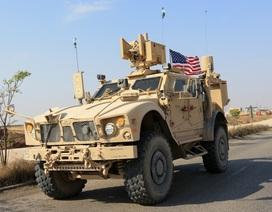 Lính Mỹ tại Syria không rút về nước như tuyên bố của ông Trump
