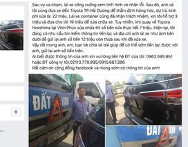 Ấm lòng bác tài xế tìm người gây tai nạn để gửi lại tiền bồi thường