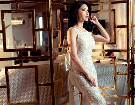 Hoa hậu Loan Vương trải nghiệm không gian sống sang chảnh với nội thất An Dương Home