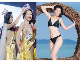 Hoa hậu Dương Thuỳ Linh xúc động trao lại vương miện cho người kế nhiệm