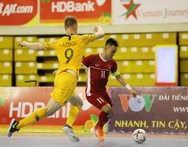 Đội tuyển futsal Việt Nam thắng Australia trong ngày khai mạc giải Đông Nam Á