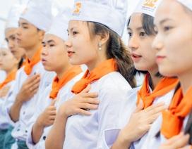 Thầy trò trường nghề hưởng ứng Ngày đầu bếp quốc tế 20.10