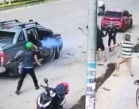 Công an điều tra nghi vấn 2 nhóm thanh niên nổ súng trong lúc hỗn chiến