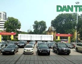 Quốc hội: Không bố trí kinh phí mua xe công, thiết bị đắt tiền!