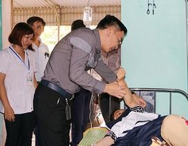 Hàng loạt trường hợp mắc sốt xuất huyết phải nhập viện điều trị