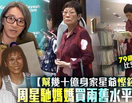 """""""Vua hài"""" Châu Tinh Trì bị chỉ trích để mẹ ruột sống cảnh nghèo khó"""