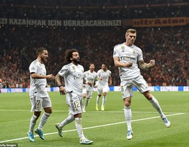 Galatasaray 0-1 Real Madrid: Kroos tỏa sáng