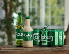 """Carlsberg tiến gần hơn tới việc hiện thực hóa chai bia """"giấy"""" đầu tiên trên thế giới"""