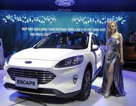 """Sự xuất hiện """"bí hiểm"""" của Ford Escape tại Triển lãm ôtô Việt Nam 2019"""