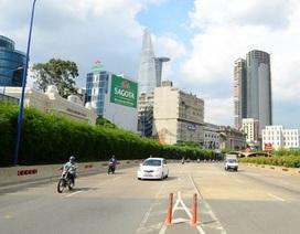 TPHCM: Cấm xe qua hầm Thủ Thiêm vào 2 ngày cuối tuần