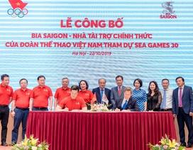 Bia Saigon tự hào là nhà tài trợ cho Đoàn thể thao Việt Nam tham dự SEA Games 30
