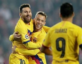 Messi lập thêm nhiều kỷ lục ở Champions League