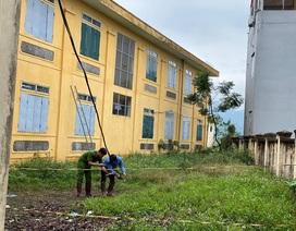 Hà Nội: Học sinh tử vong tại trường nghi do điện giật, công an vào cuộc