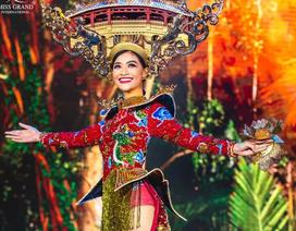 Việt Nam lọt top 20 bộ trang phục dân tộc đẹp nhất Hoa hậu hoà bình quốc tế 2019
