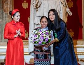 NTK Minh Hạnh và hành trình của Tơ lụa Bảo Lộc, thổ cẩm Zèng đến nước Nga