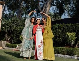 Ngọc Hân, Phương Nga dự đám cưới siêu sang của con gái đại gia Ấn Độ