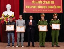 Cá nhân đấu tranh chống tội phạm xuất sắc, thưởng tối đa 5 triệu