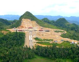 Xẻ núi xây khu sinh thái văn hóa tâm linh gần di tích Cột cờ Lũng Cú