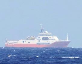 Tàu khảo sát trái phép của Trung Quốc rời vùng biển Việt Nam