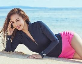 Sắc vóc gợi cảm và hấp dẫn của mỹ nhân lai U40 xứ Hàn