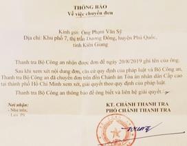 """Vụ """"cố ý gây thương tích"""" tại Kiên Giang: Thanh tra Bộ Công an chuyển TAND cấp cao giải quyết"""