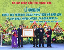 Huyện thứ 4 của Thanh Hóa được Thủ tướng công nhận đạt chuẩn nông thôn mới