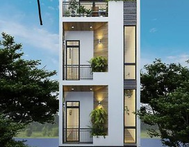 Mẫu nhà phố 4 tầng vẻ đẹp hiện đại gây sốt