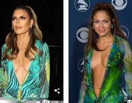 """Người đẹp U60 Lisa Rinna diện váy táo bạo """"bắt chước"""" Jennifer Lopez"""