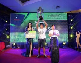 Quốc Anh vô địch giải Tiền Phong Golf Championship 2019
