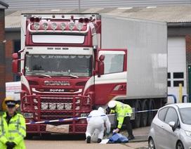 Anh áp dụng quy trình quốc tế nhận dạng 39 thi thể trong xe tải