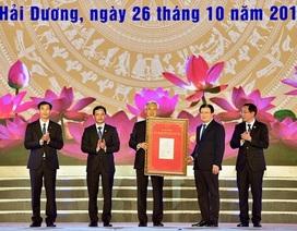 Thành phố Hải Dương được công nhận đô thị loại I