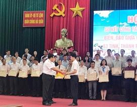 EVN đón nhận bằng khen của Bộ Tư lệnh Hải quân