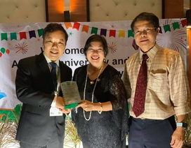 """CEO First News Nguyễn Văn Phước nhận giải thưởng """"Cống hiến vì cộng đồng"""" tại Thái Lan"""