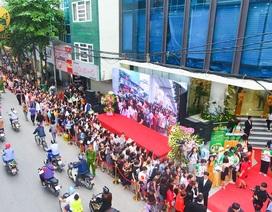 Hơn 5.000 nghìn khách hàng tham dự khai trương Thu Cúc Mega Beauty Center Cầu Giấy