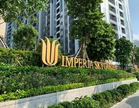 """Soi"" dự án Imperia Sky Garden trước thời điểm chuẩn bị bàn giao"