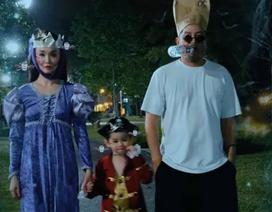 Vợ chồng Phạm Văn Phương - Lý Minh Thuận hoá trang ấn tượng đi chơi Halloween