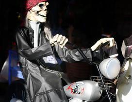 Đồ chơi ma quỷ kinh dị tràn ngập phố cổ trước ngày Halloween