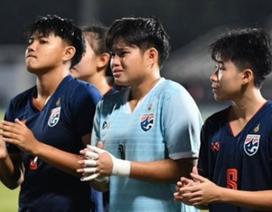 Nữ U19 Thái Lan bật khóc sau khi để thua U19 nữ Việt Nam