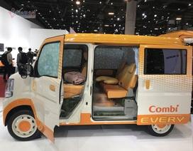 Mê mẩn với những chiếc xe vuông cực kỳ tiện dụng của người Nhật