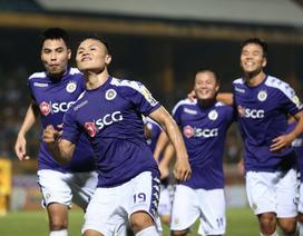 Ngày hội bóng đá Thủ đô tại sân Hàng Đẫy: Tặng 100 quả bóng có chữ ký Quang Hải, Duy Mạnh...